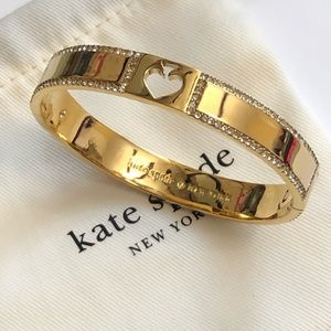 New ! Kate Spade crystal spade bangle